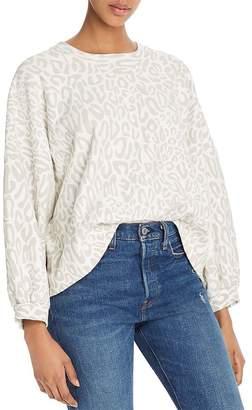 Rebecca Minkoff Rosie Leopard-Print Sweatshirt