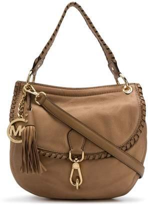 MICHAEL Michael Kors whipstitched trim shoulder bag