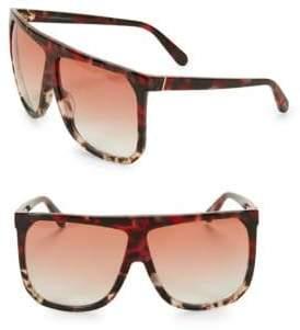 Loewe LW40001I 63MM Square Aviator Sunglasses
