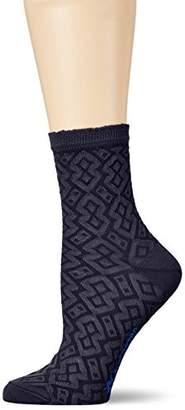 Burlington Women's Rhomb Structure Ankle Socks
