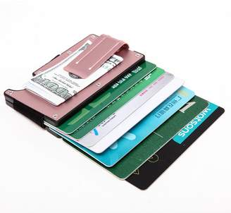 Artmi RFID Wallet Money Clip Aluminum Card Holder Cool Gift for Him
