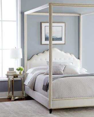 Haute House Athena California King Canopy Bed