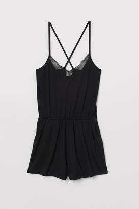 H&M Playsuit with lace