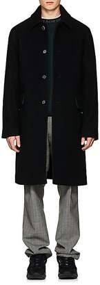 Acne Studios Men's Wide-Collar Wool-Blend Felt Four-Button Coat