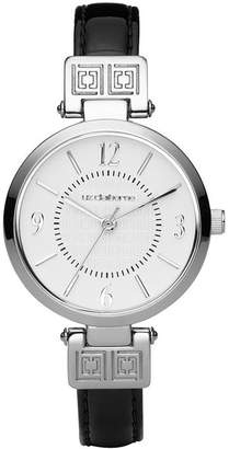 Liz Claiborne Black Iconic Watch