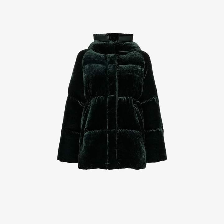 Butor Velvet Padded Coat