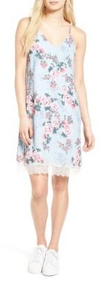Women's Love, Fire Floral Print Slipdress $45 thestylecure.com