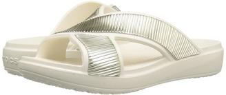 Crocs - Sloane Embellished Xstrap Women's Sandals $40 thestylecure.com