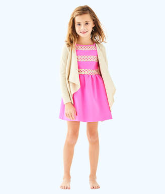 Lilly Pulitzer Girls Mini Colony Cardigan