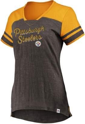 Majestic Women's Pittsburgh Steelers Hyper Tee