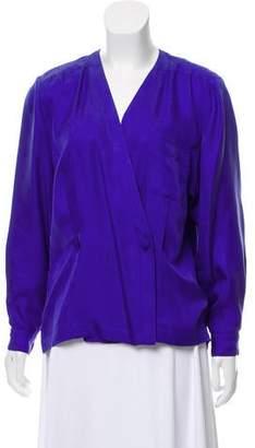 Hermes Silk Patterned Top