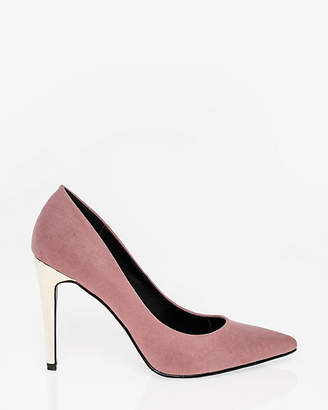 Le Château Electroplated Pointy Toe Pump