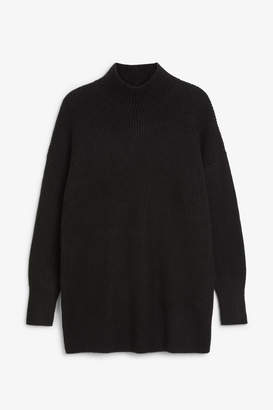 Monki Long polo neck knit