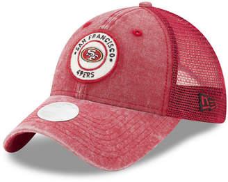 New Era Women's San Francisco 49ers Perfect Patch 9TWENTY Snapback Cap