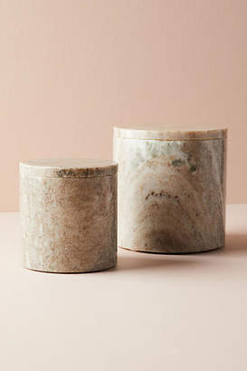 Anthropologie Marble Canister