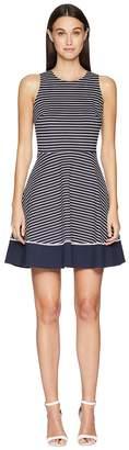 Kate Spade Stripe Ponte Dress Women's Dress