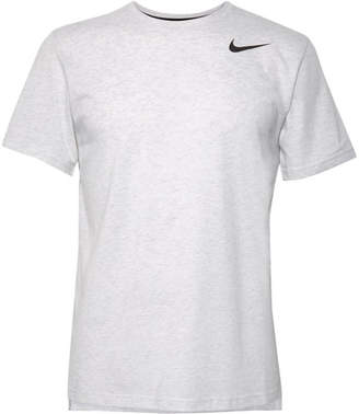 0f811ba7 Nike Training - Breathe Perforated Dri-fit T-shirt - White