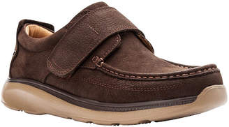 Propet Mens Otto Loafers Hook and Loop Round Toe