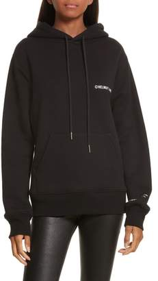 Helmut Lang Copyright Cotton Hoodie