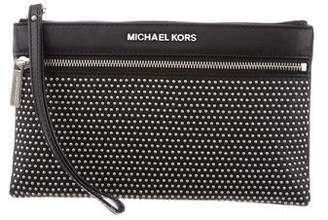 MICHAEL Michael Kors Micro Studded Selma Wristlet w/ Tags