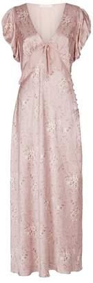 LoveShackFancy Love Shack Fancy Lillian Floral Ruffle Dress