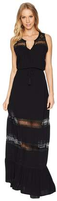 BB Dakota Ranae Lace Detailed Maxi Dress Women's Dress