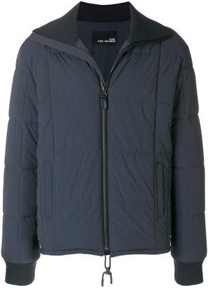 Yves Salomon zip-front padded jacket