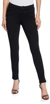 7 For All Mankind Jen7 by Ponte Skinny Jeans, Black