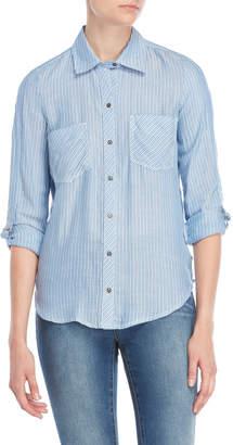 William Rast Carina Striped Shirt