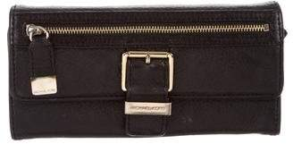 Michael Kors Leather Flap Wallet