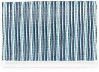 Diane von Furstenberg woven stripe clutch bag