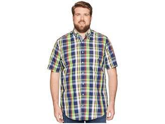 Nautica Big Tall Casual Plaid Shirt