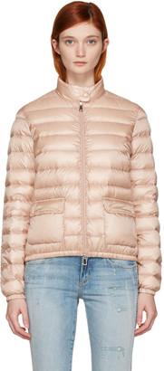Moncler Pink Down Lans Jacket $695 thestylecure.com