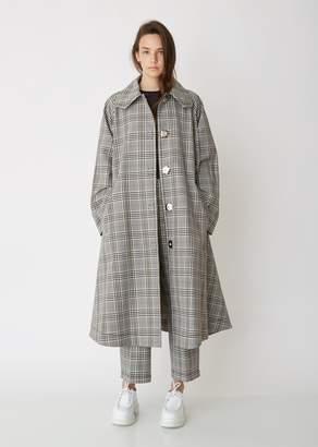 MM6 MAISON MARGIELA Check Swing Coat