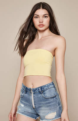 Proenza Schouler Basics By Pacsun Lettuce Edge Tube Top
