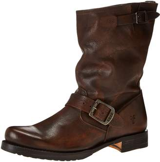Frye Women's Veronica Short Boot, Maple Calf Shine