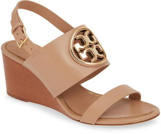 8f95526f33 Tory Burch Beige Wedges - ShopStyle