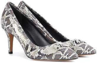 Isabel Marant Poween printed leather pumps