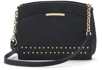 JLO by Jennifer Lopez Heather Studded Crossbody Bag