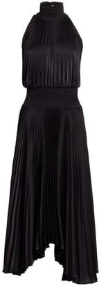 A.L.C. Renzo Pleated Sleeveless Dress