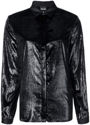 Just Cavalli textured shirt