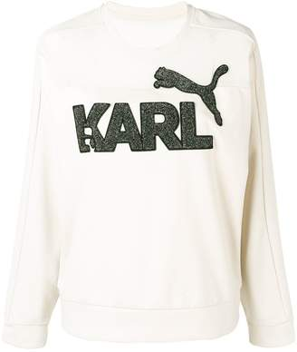 Karl Lagerfeld x Puma sweatshirt