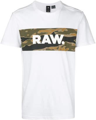 G Star G-Star camouflage panel T-shirt