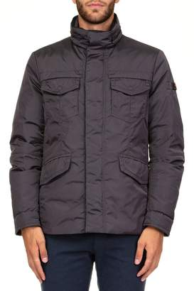 Peuterey Stripes Oxf Down Jacket