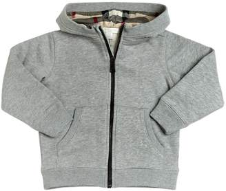 Burberry Hooded Cotton Sweatshirt