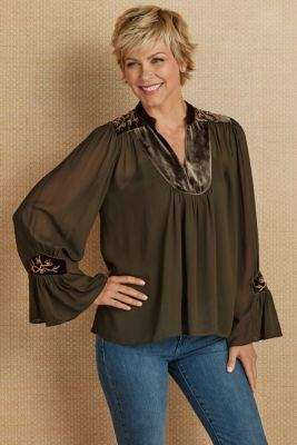 Soft Surroundings Valentina Tunic