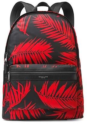 Michael Kors Palm Print Backpack
