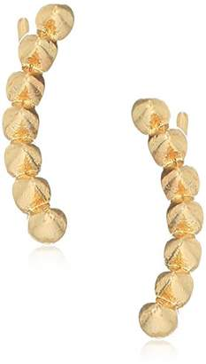 Rachel Roy Womens Spike Crawler Earrings