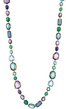 Ippolita Women's 18k Rock Candy Sofia Mixed Gemstone Necklace