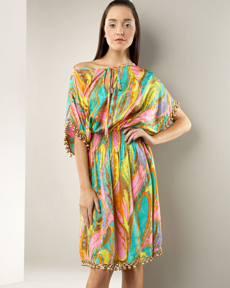 Milly Paisley Marrakesh Dress